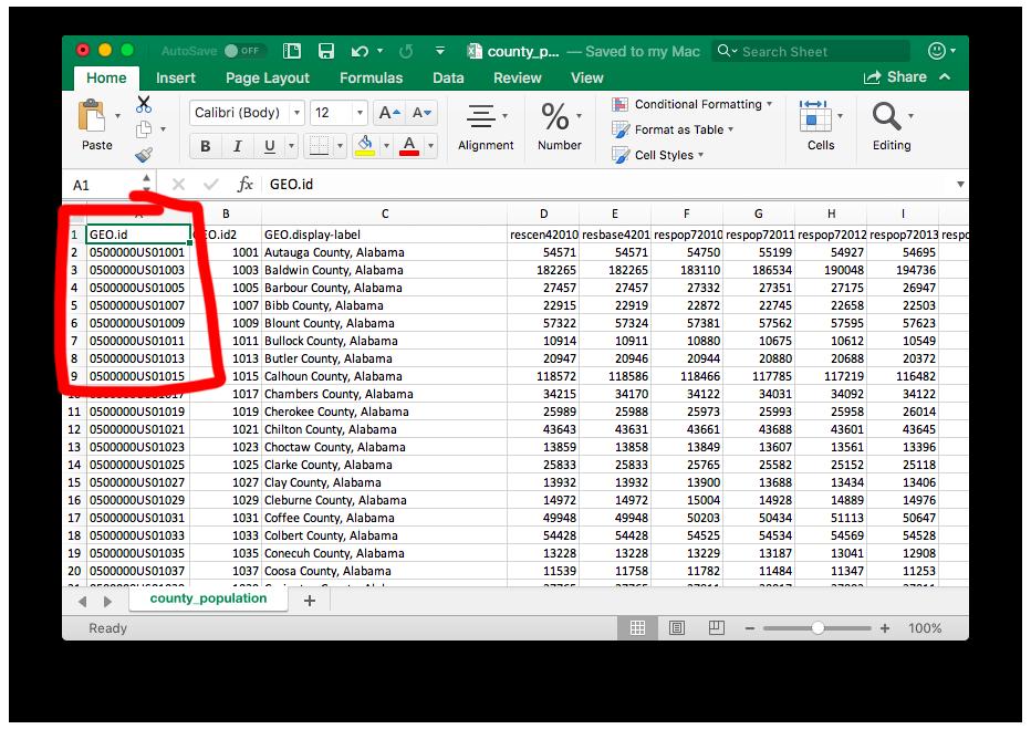 Joining shapefiles to CSV data