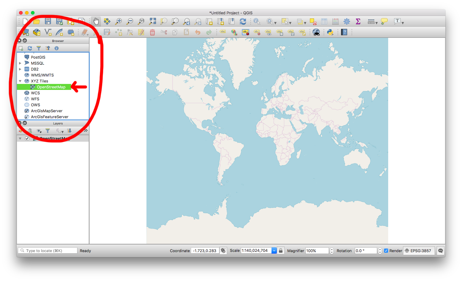Using QuickOSM to download OpenStreetMap data in QGIS